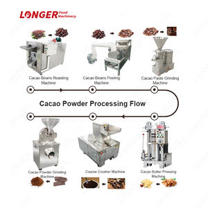 Cocoa Butter Powder Making Product Line Cocoa Bean Processing Machinery
