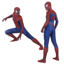 halloween super hero zentai Unisex Lycra Spandex 2019 Sam Raimi spiderman  men's Cosplay Costume Adult/Kids 3D Style