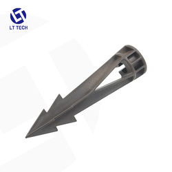 LT401B PVC Stake/Spike With Cut for Pathway Flood Accent Wall Spot light & Up light Outdoor Lighting Accessories