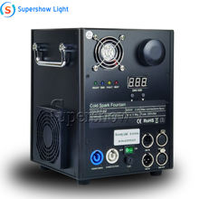 OEM Stage Effect Fireworks Cold Pyro Fountain Machine DMX Spray Flame Safe Fire dmx stage cold spark fountain machine