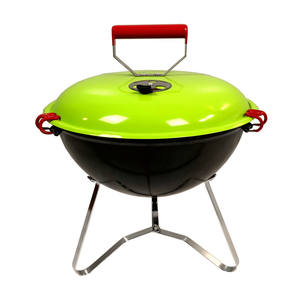 14 Inch Charcoal Kettle Mini Outdoor Portable BBQ Charcoal Portable Folding Barbecue Hot Grill