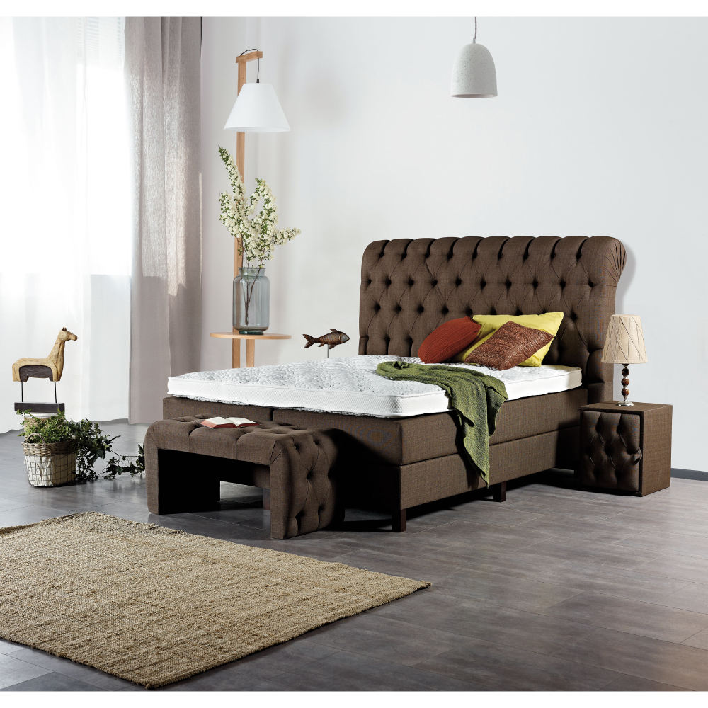 Caja Chesterfield ajustable, juego <span class=keywords><strong>de</strong></span> muelles, muebles <span class=keywords><strong>de</strong></span> dormitorio <span class=keywords><strong>de</strong></span> <span class=keywords><strong>madera</strong></span>