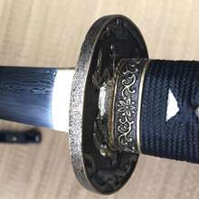 Fully Handmade Katana Sword With Damascus Steel Blade Drop Shipping