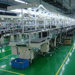 Efficient and reliable LED production line led bulb / lamp manufacturing machine