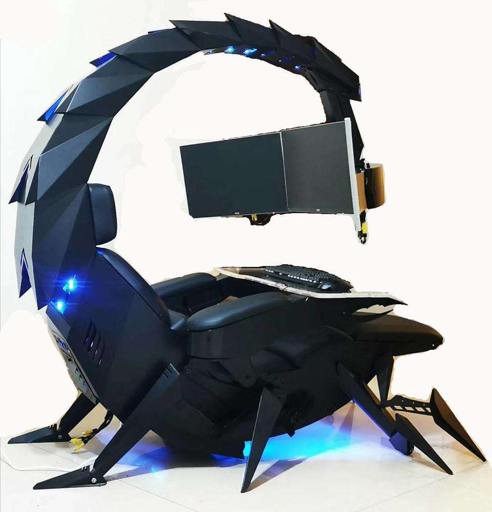 Cluvens chair workstation automatic Scorpion PC chair
