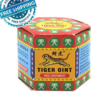 100% Original Red Tiger Balm Ointment Pain Relief Muscle Ointment Stomachache Massage Rub Muscular red Tiger Balm