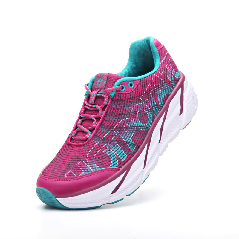 ODM brand customized clifton stylish professional marathon road running shoes with 30 mm stack height and 12 mm drop
