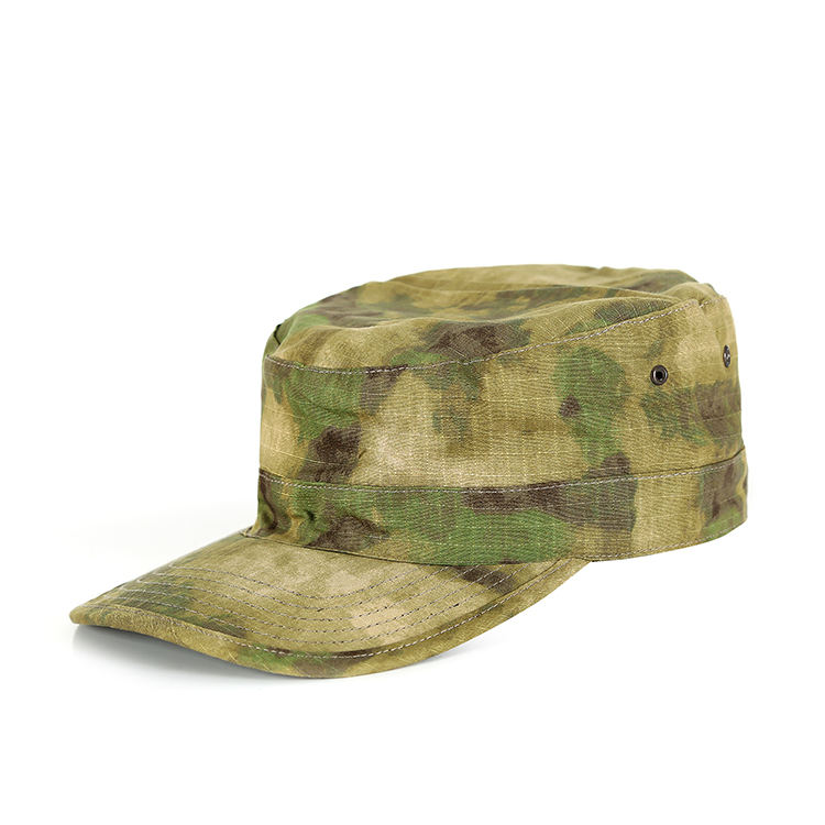 Wholesale Custom Logo Cotton Adjustable Sports Camouflage Army Camo Military Vintage Baseball Cap