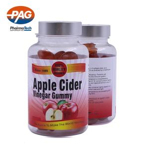 Private Label Low Sugar Vitamins Apple Cider Vinegar Gummies Candy For Weight Loss