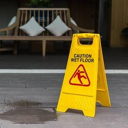 PP Yellow Wet Floor Safety Warning Sign/caution board