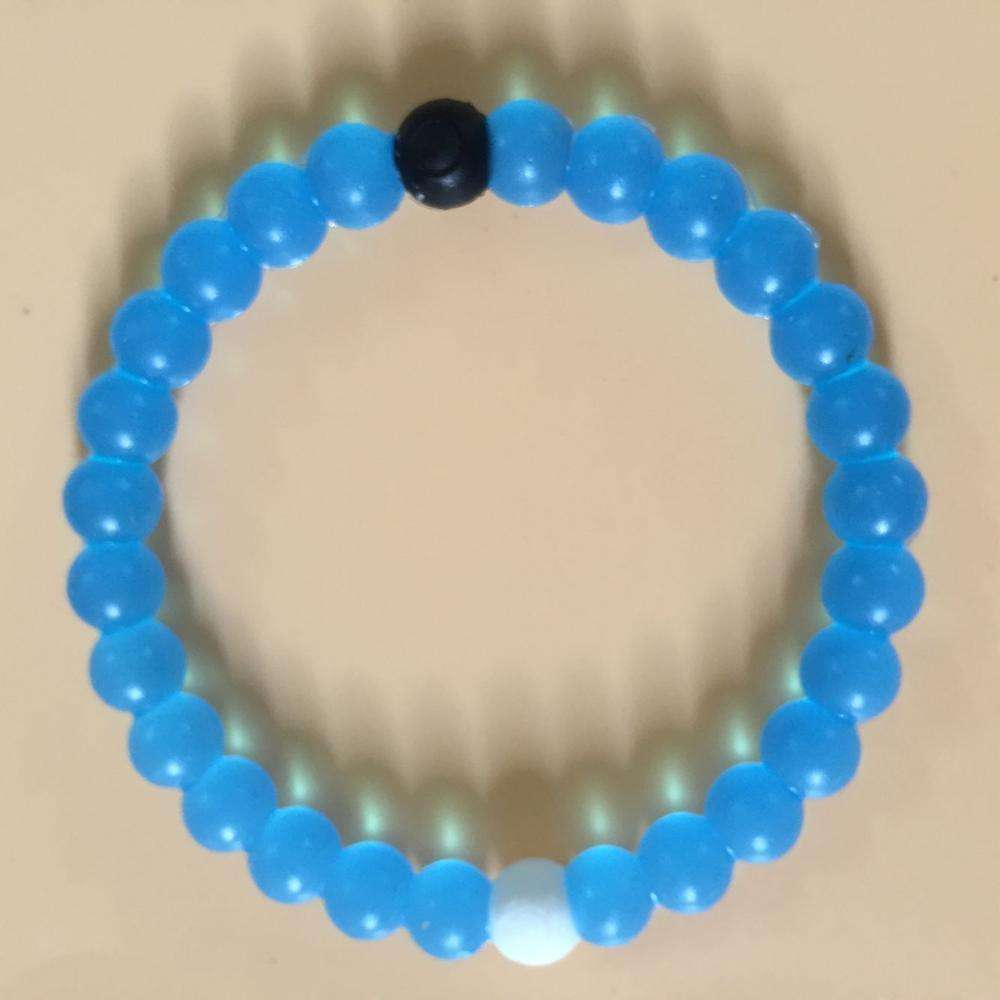 New Fashion Mixed Color Silicone Bead Bracelet