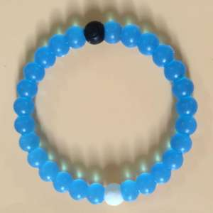New Fashion Campuran Warna Silicone Bead Gelang