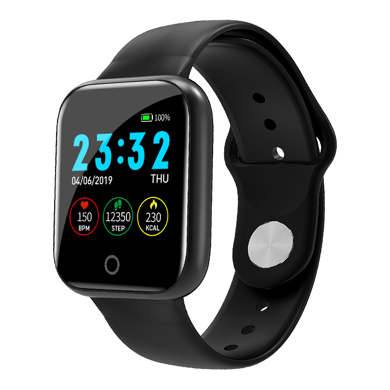 Factory OMS custom i5 Fitness Tracker Watch android Smart Watch health Bracelet ISO android phone