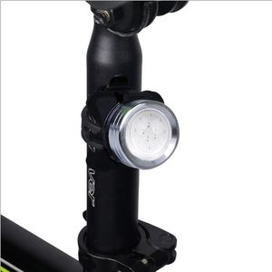 Multifunction New Red And Blue Police Bike Lights Silicone COB LED Bicycle Accessories Light