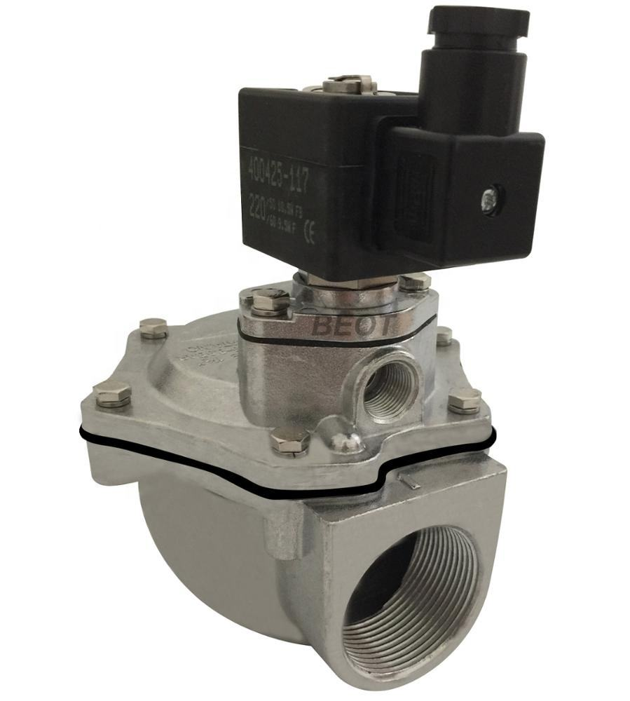 SCG353A047 type integral pilot solenoid pulse valve with NBR diaphragm 1-1/2