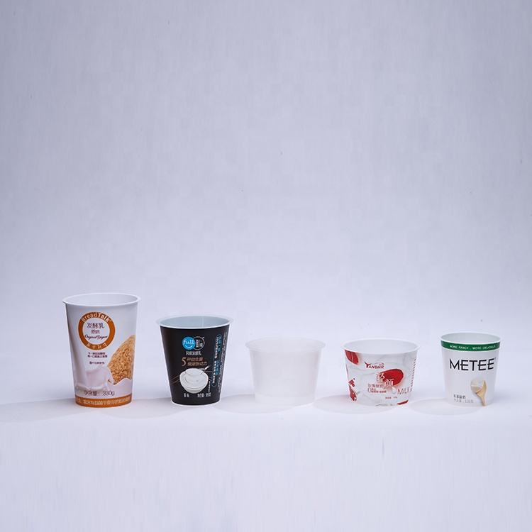 yogurt cups usa cold yogurt container pp plastic yogurt packaging container