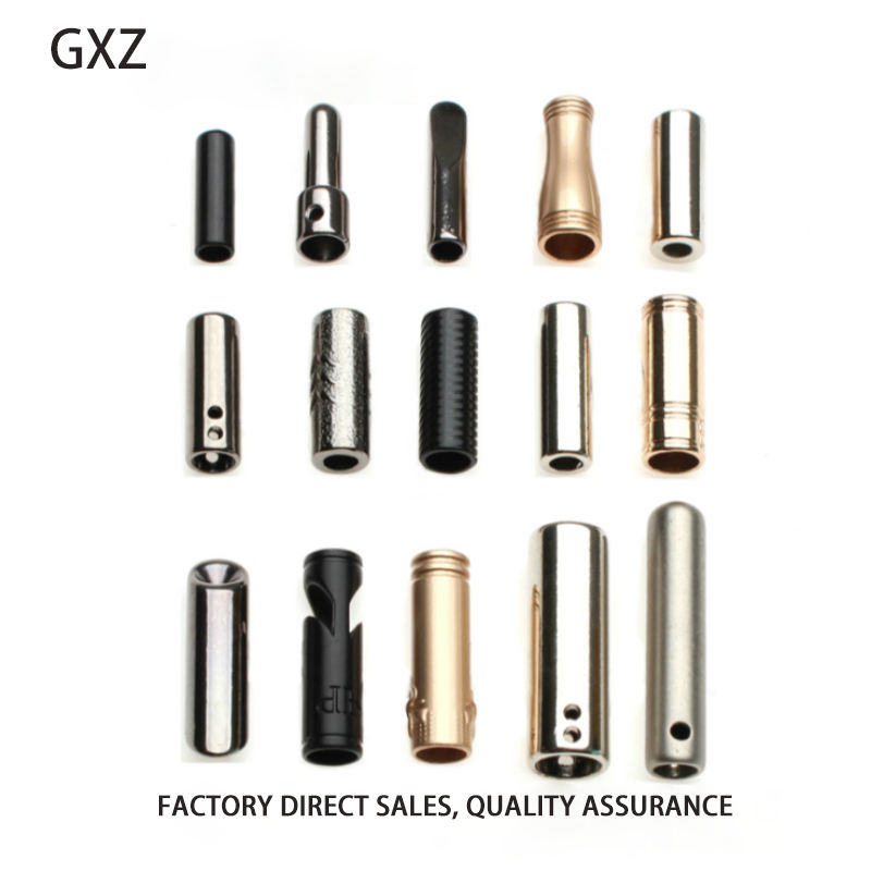 Manufacturer direct selling high-grade cylindrical bell long metal bell conical bell zinc alloy rope stop buckle clasp