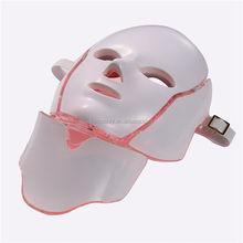 2020 Face Care Skin Rejuvenation 7 Color Facial Neck Microelectronics Led Photon Therapy Mask