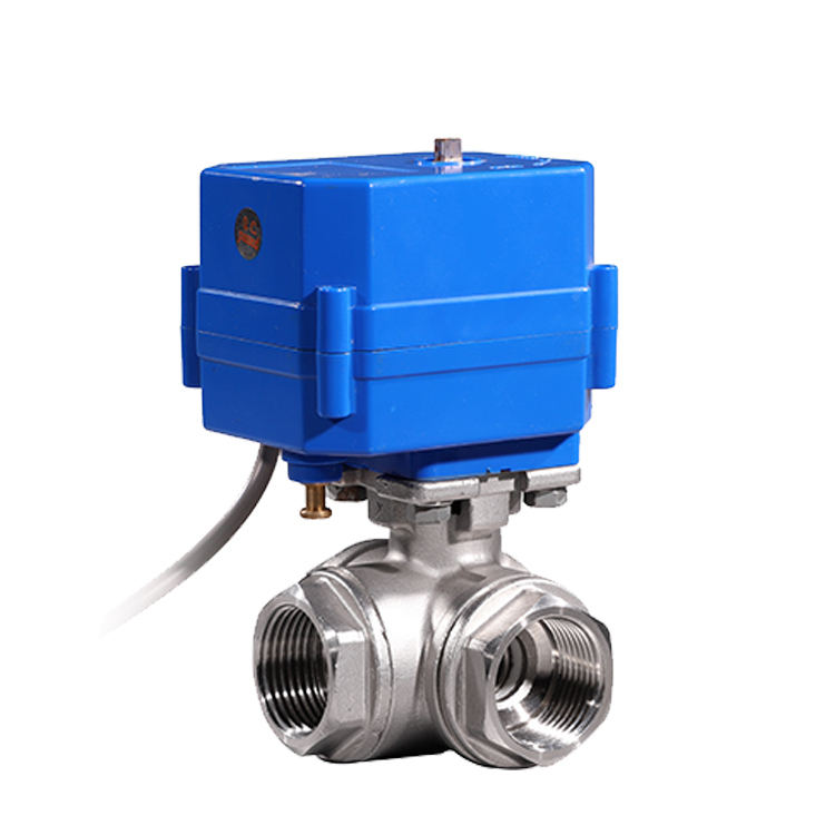 COVNA 3/4 inch 3 Way Electric Water Diverter Valve