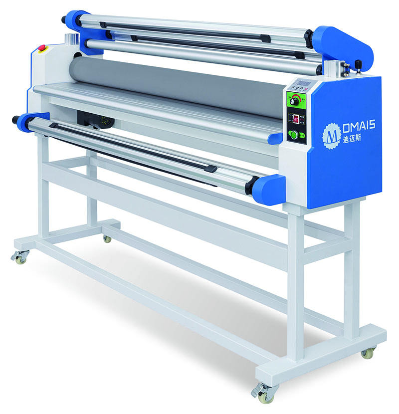 DMS-1680A Laminator 60 inch Self-peeling Automatic Rolling PP sticker Photo Paper Laminating Machine