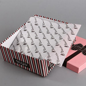 custom printed tissue wrapping paper for packaging