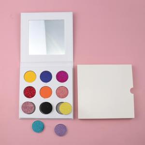 Hot sale 119 Color Eye Shadow Super Pigmented Eyeshadow Palette Private Label Custom DIY Eyeshadow palette