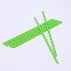 LFGB Certificate Biodegradable Pure Green Drinking Paper Straws for Hot Water