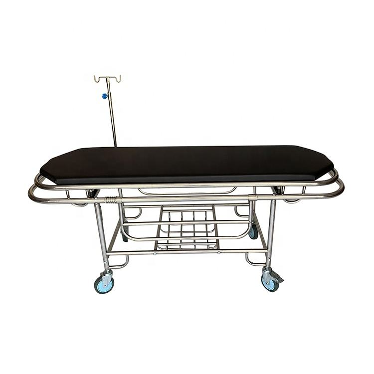 Stainless steel Ambulance Emergency patient Transport Stretcher patient Trolley