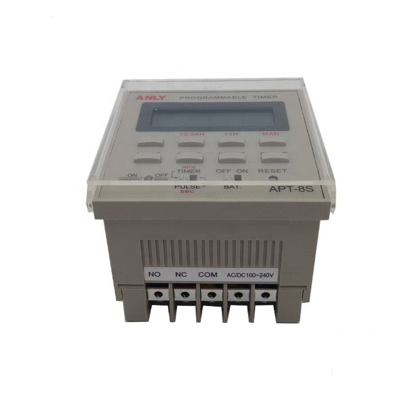 APT-8S ANLY 100-240VACTAIWAN ENGLISH AND CHINESE Socket Relay Digital Time Electronic Electrical Switch 220V Timer