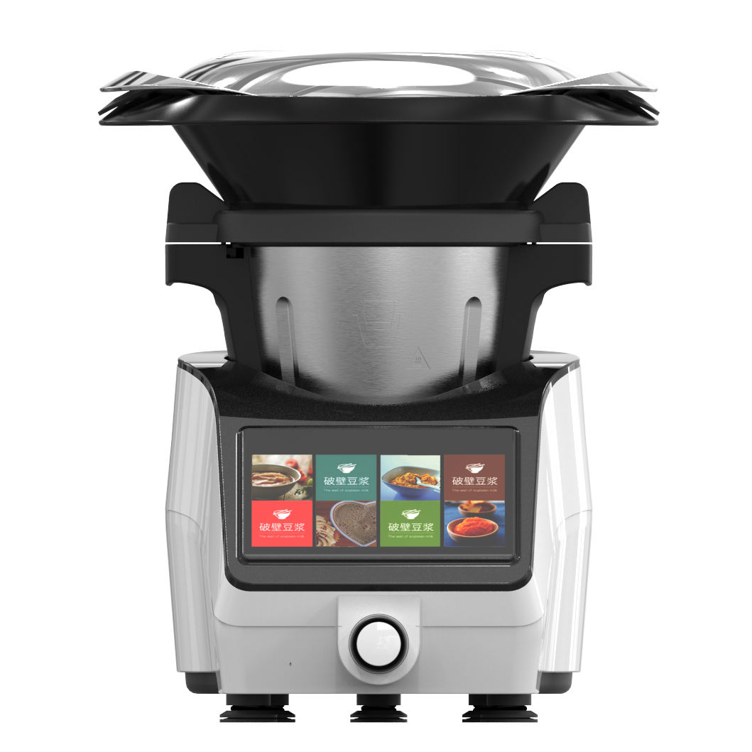 Multi-functional Thermomixer and Food Processor with big colored screen