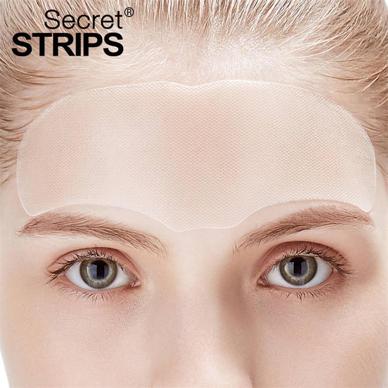 Custom Skincare Collagen Face Facial Mask Sheet Anti Forehead Wrinkles Care Strips