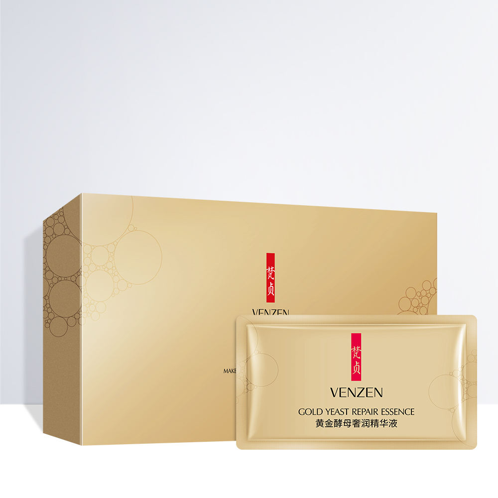 Di alta Qualità Private Label VENZEN <span class=keywords><strong>Essenza</strong></span> 24k oro collagene idratante siero set