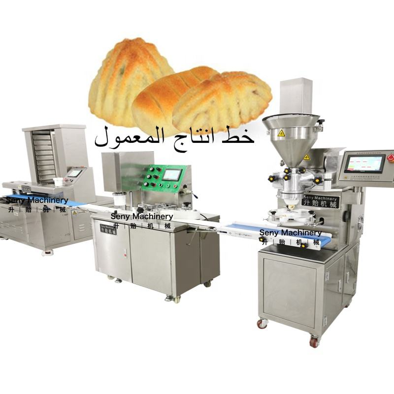 Seny Automatic High capacity small commercial moon cake/maamoul making machines