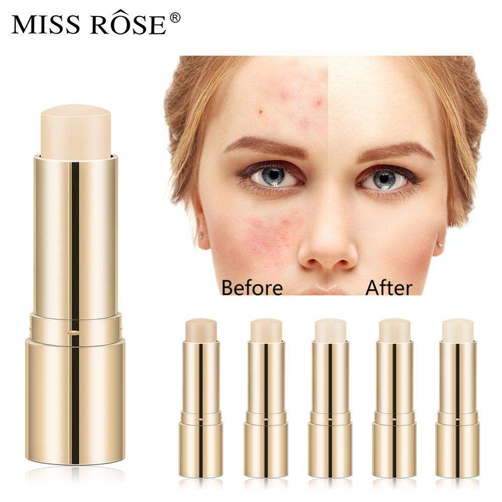 Miss Rose Effen Concealer Stok Concealer Foundation Volledige Cover Gezicht Corrector Verbergen Blemish Dark Eye Cirkel Make-Up Pen