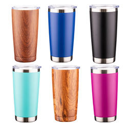 Wholesale Vacuum Double Wall Insulated Tumbler Cup With Lid Custom Logo 20OZ travel Stainless Steel Thermal Car Cup manufacture