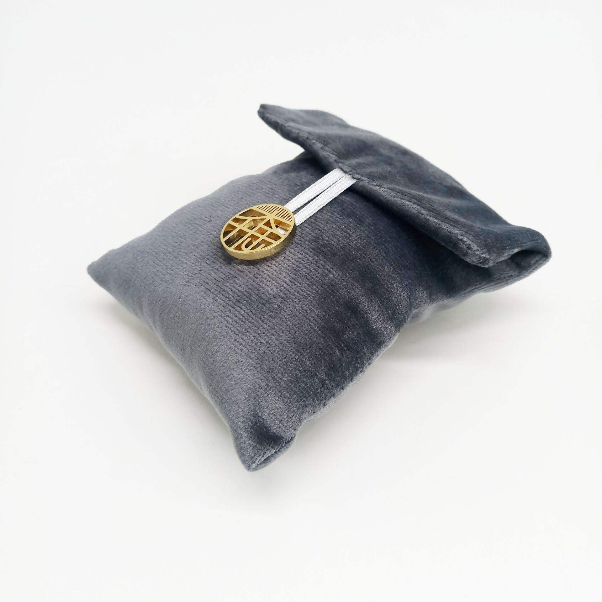 Custom Luxury Mini Suede Microfiber Envelope Jewelry Pouch for Necklace Earrings Rings Bracelet Storage Bag