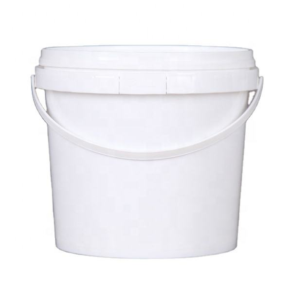 5L Food Grade plastic bucket, Empty 5KG Food Pails with handle and lid for food