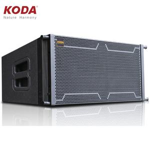 Outdoor Big Power Pasif Sistem Audio Line Array Aktif Konser Speaker