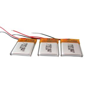 Best selling rechargeable lithium battery 402025 3.7v 140mah li-polymer battery