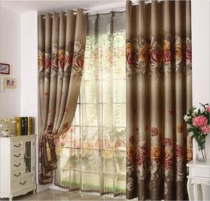Dubai blackout curtain fabric for window curtain