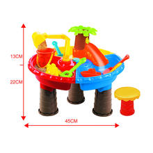 Oem Outdoor games from manufacturer Beach Toys Summer toy set water table 22 pcs play set For Kids