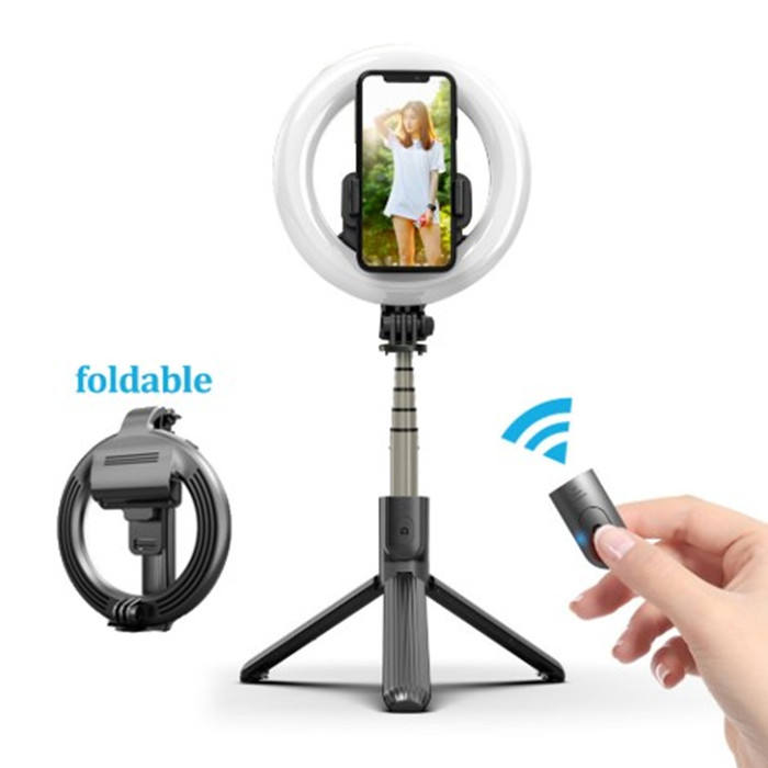 New Arrival Portable Led Ring Light 5 inch L07 Ring Light With Tripod Stand For Makeup Photography Selfie Ring Light