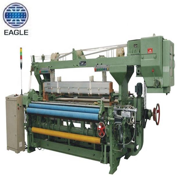 china rapier loom fabric weaving machine manufacture