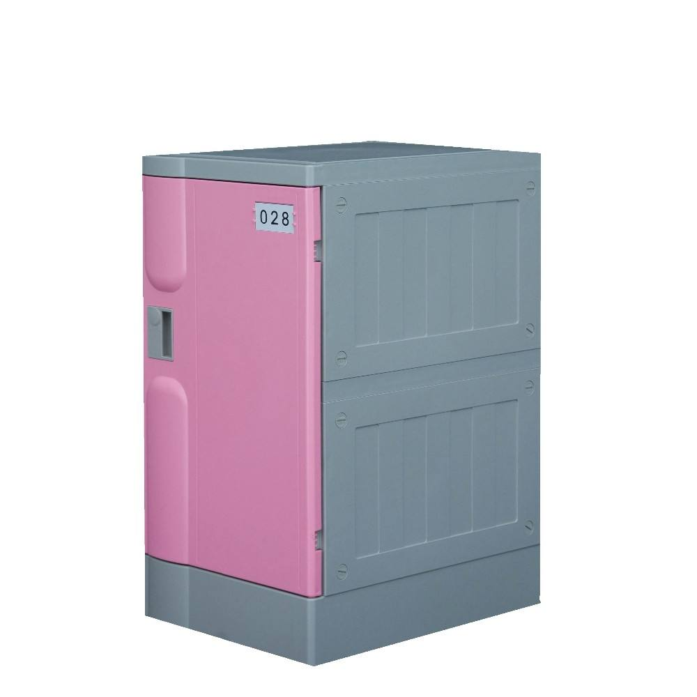 China abs antique pink/white plastic furniture cabinet locker