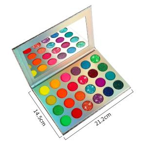 Shine Eye shadow Palette UV Light Dark Luminous Eye shadow Eyeshadow Palette Private Label Make Up Organic Eyeshadow pigment
