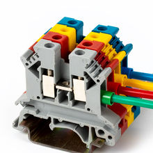JUK2.5B gray blue black red UK series complete model phoenix universal connector free combination DIN rail Screw Terminal Blocks