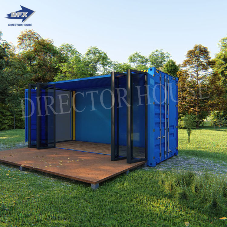 Low Cost Modern Prefab And Expandable Coffee Shop 20FT Container Shop Restaurant Shipping Container Coffee Shop Bar For Sale
