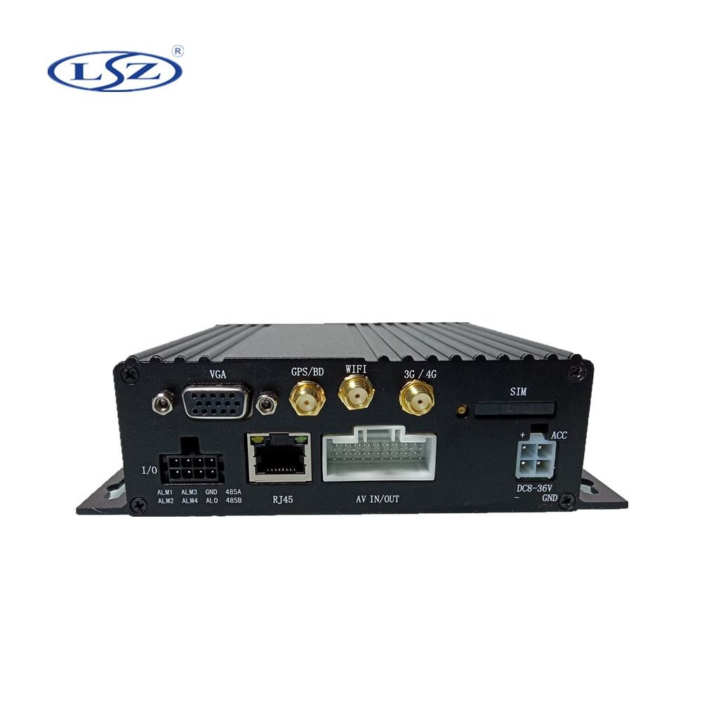 2020 Hot AHD 1080P 4CH 3G 4G GPS WIFI SD card Vehicle Mobile DVR