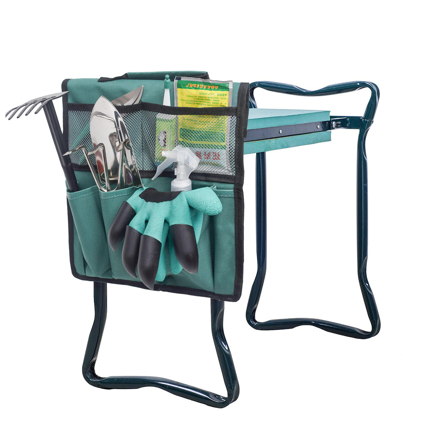 Canvas waterproof garden toolkit bucket carrier garden network too tote bag the toolkit