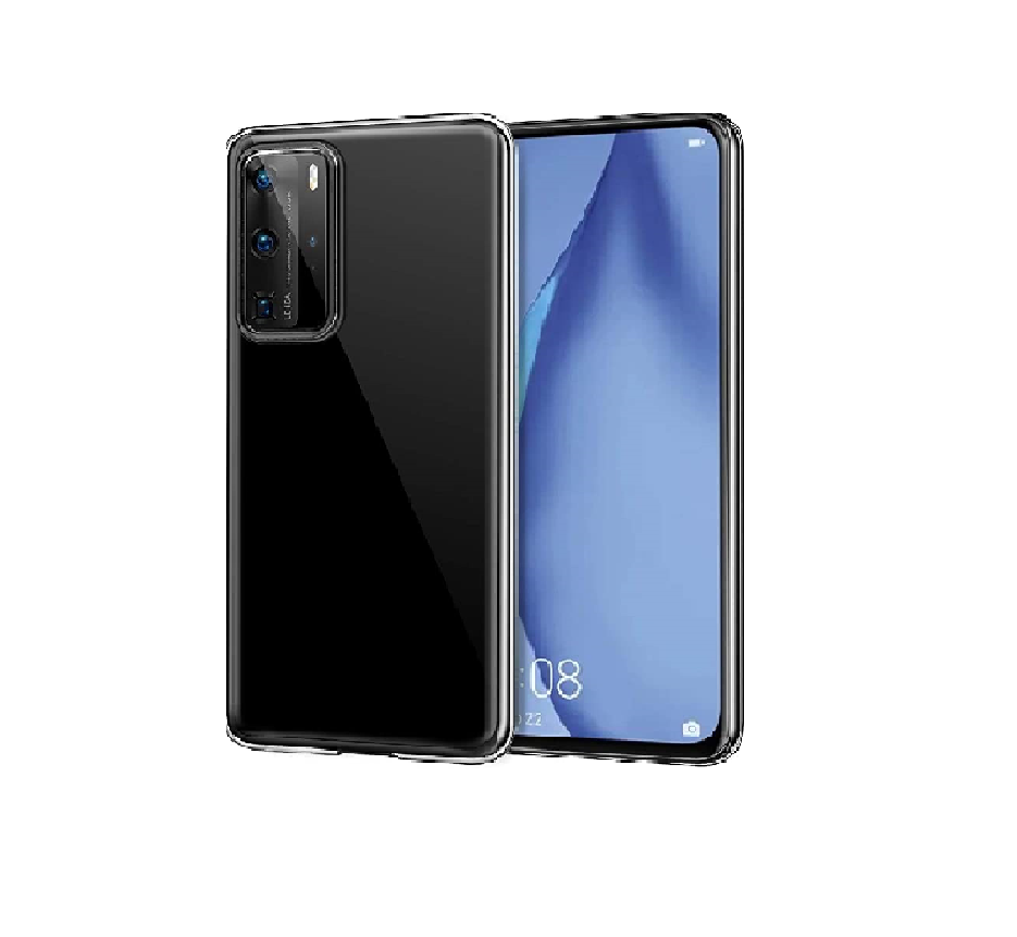 Premium Soft Clear Transparent TPU Cover Phone Case For Huawei P40 Pro